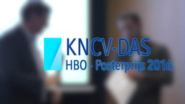 KNCV-DAS | HBO Posterprijs | 24 maart 2016